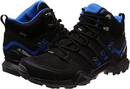 f3d17685b adidas Herren Terrex Swift R2 Mid GTX Trekking-& Wanderstiefel, Schwarz  Negbás/Azubri 000, 40 EU: Amazon.de: Schuhe & Handtaschen