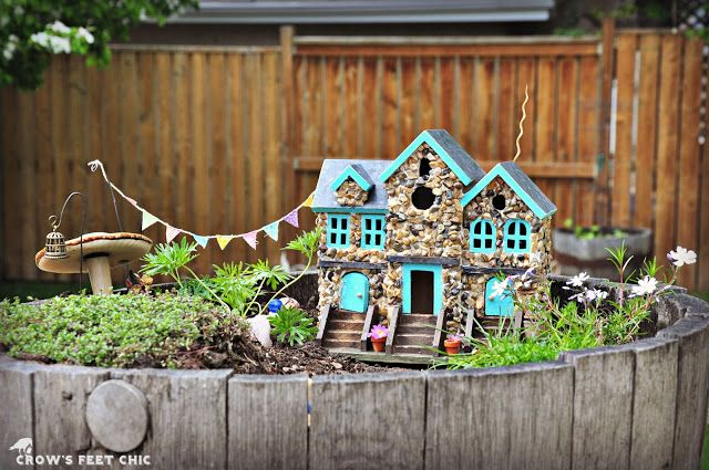 Crow S Feet Chic Our Fairy Garden