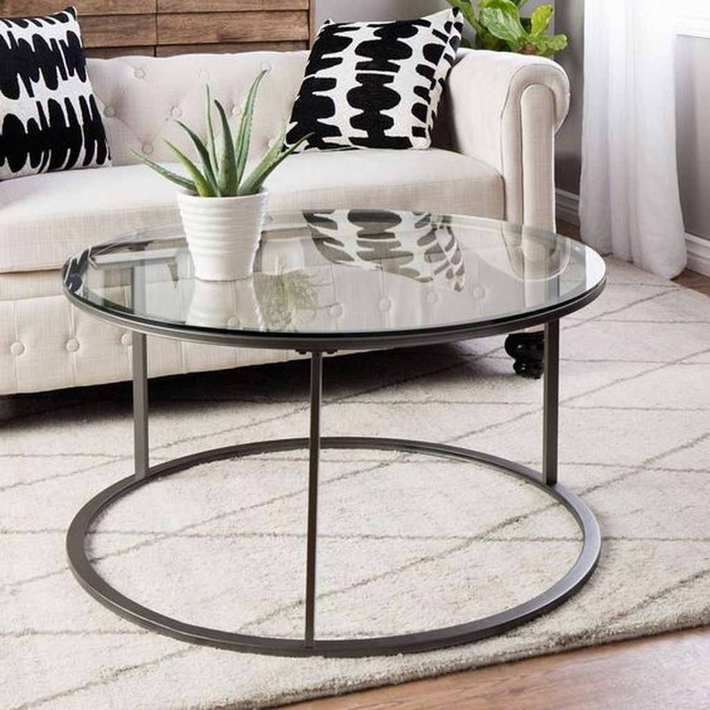 45 Classy Round Glass Coffee Table Designs Ideas For Living Room Round Glasscoffeetable Livin Round Glass Coffee Table Coffee Table Coffee Table Metal Frame [ 1024 x 1024 Pixel ]