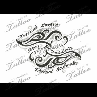 Soul Mate Tattoos Really Like This One Tattoo Tattoos