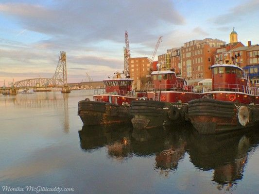 Portsmouth Harbor Tug Boats At Rest Portsmouth Nh Tug Boats Portsmouth New Hampshire