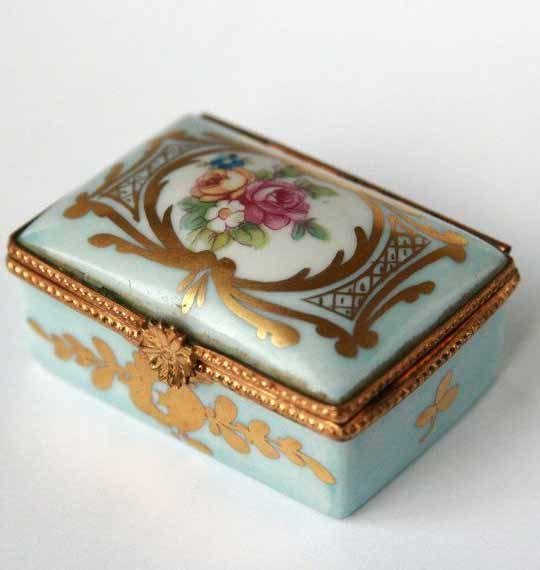 Meissen Porcelain Erdinc Bakla Archive Trinket Boxes Antique Jewelry Box Vintage Box