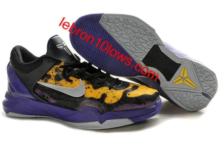 aa54b1084c51 germany kobe vii yellow and purple 5edb2 26d30  wholesale kobe 7 poison  dart frog lakers court purple wolf grey black tour yellow 488371 500