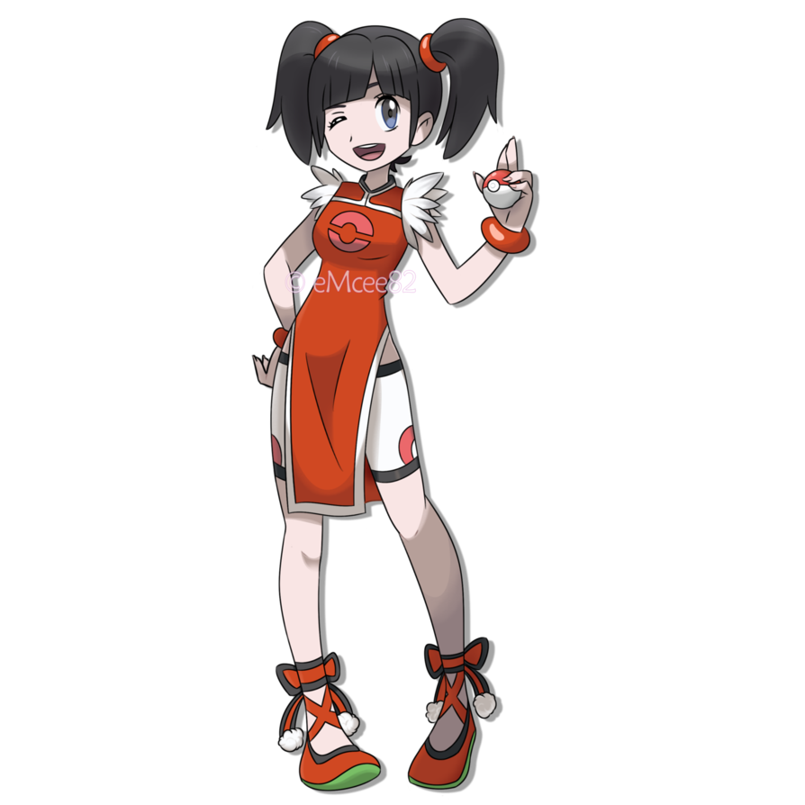 ling xiaoyu as a pokemon trainer by emcee82 ポケモン トレーナー