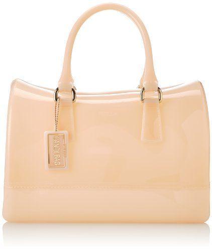 FURLA Candy Medium Satchel Classic Top Handle Handbag Magnolia Beach Summer #Furla #Satchel