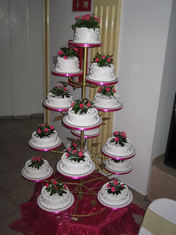 Quinceanera Cake Tower A Traditional Part Of The