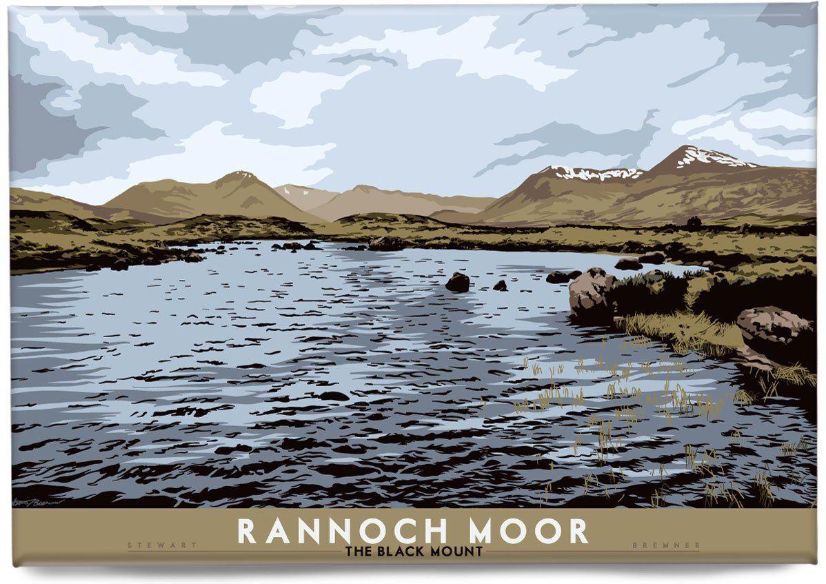Rannoch Moor: The Black Mount – Magnet – natur