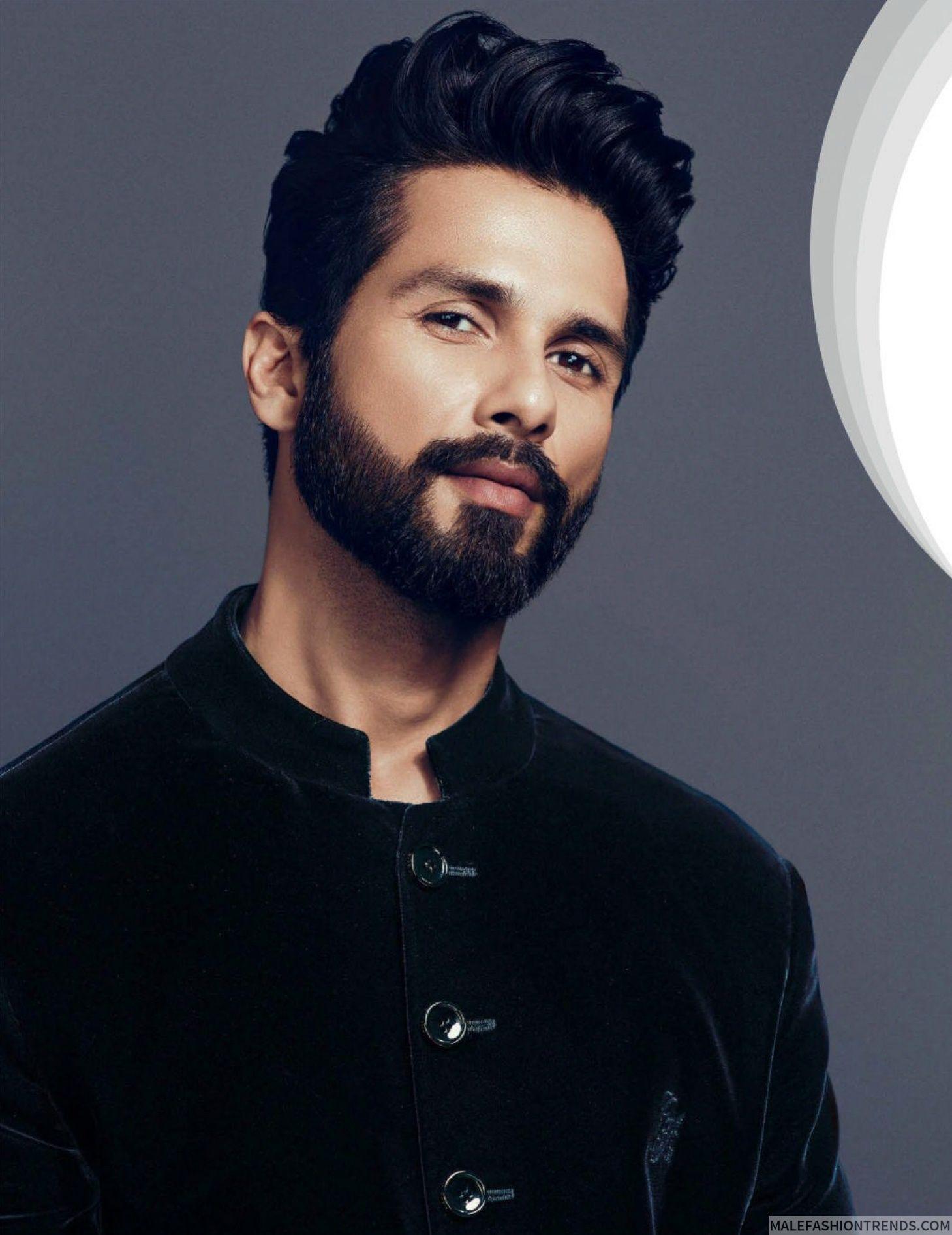 Shahid Kapoor Para Gq India En Fotos De Prasad Naik Indian Beard Style Indian Hairstyles Men New Men Hairstyles