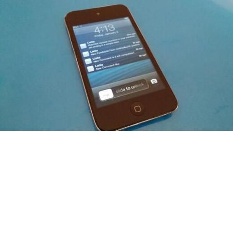 'Gently Used  iPod Touch 4th Gen 8GB Black' is going up for auction at  5pm Sat, Jan 11 with a starting bid of $125.