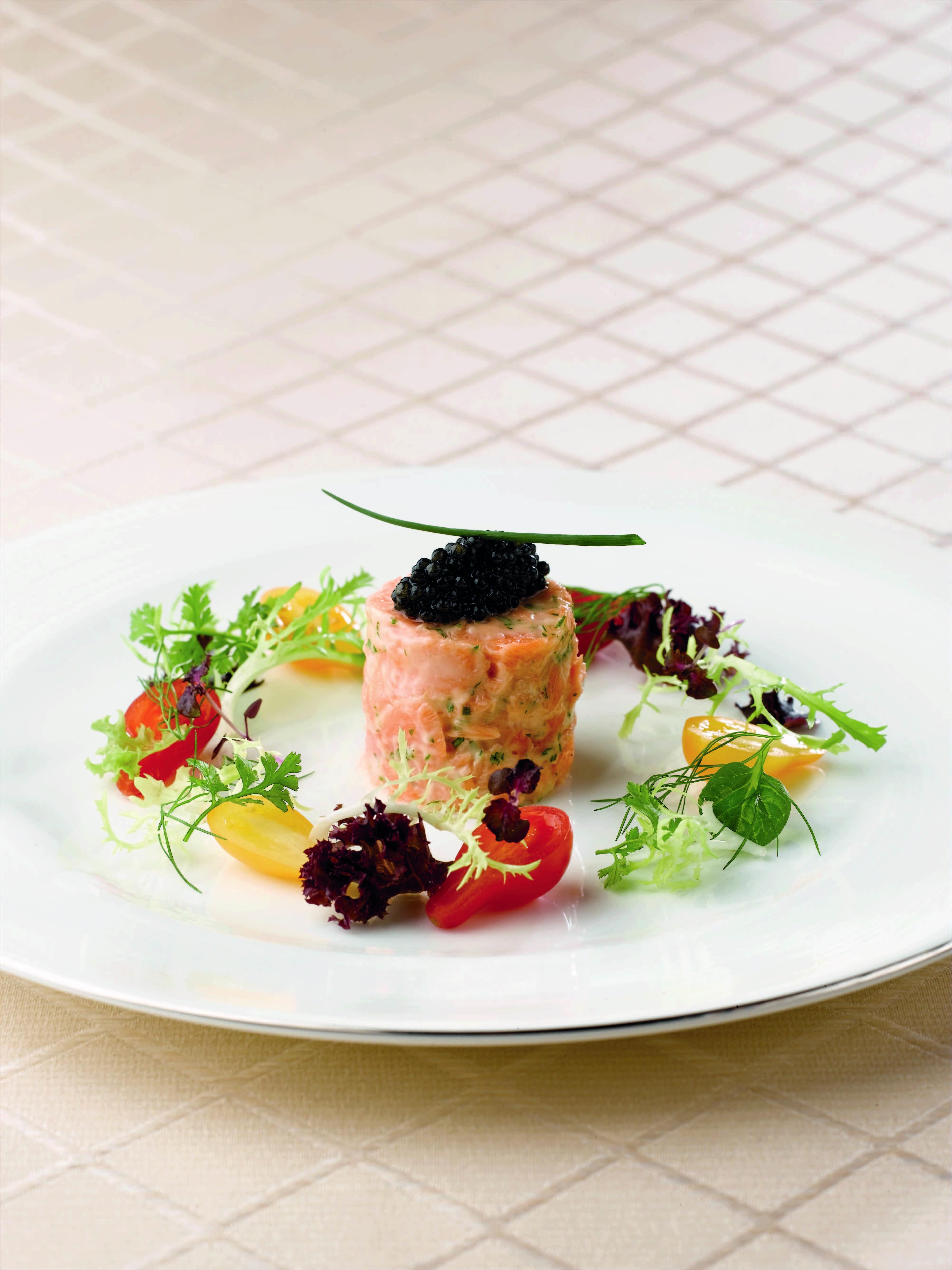 Scottish Salmon Rillette With Caviar Recipe Scottish Salmon Smoked Food Recipes Food
