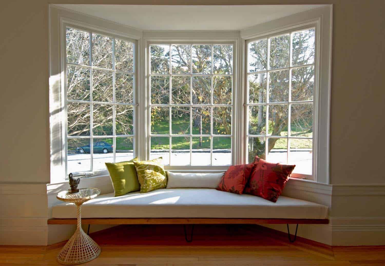 44 Window Nooks Framing Spectacular Views In 2020 Bay Window Seat Modern Interior Design Home Decor Bedroom