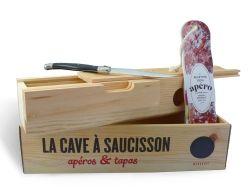 Coffret Cave à saucisson (éditions Marabout)