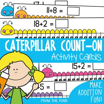 Addition - Counting-On Math Center | Student learning, Activities ...