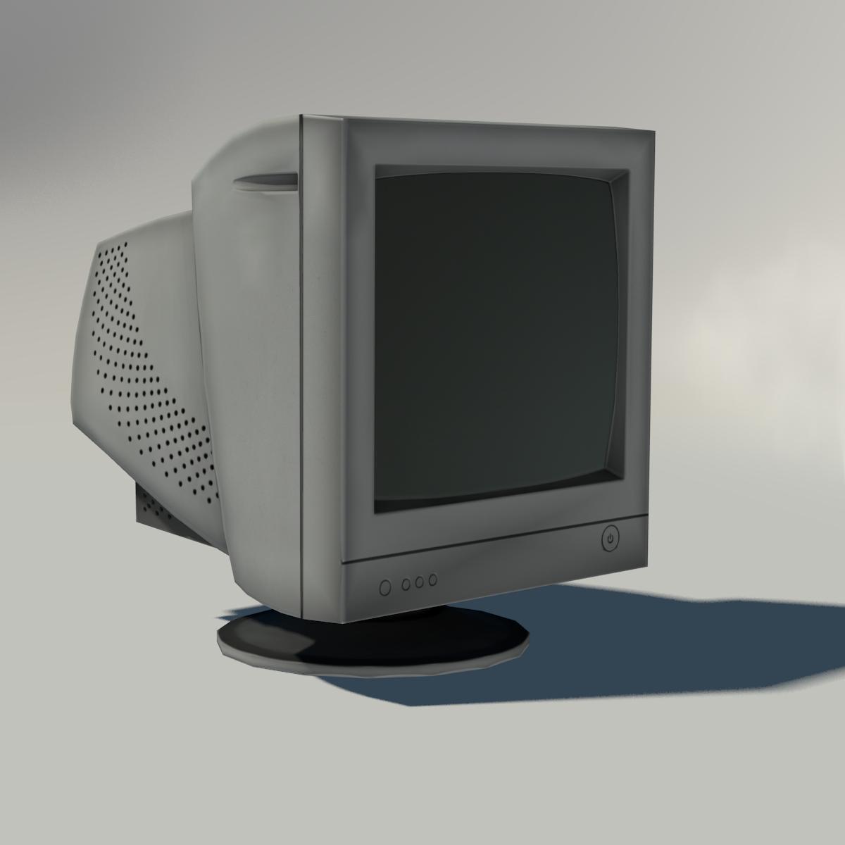 Old Crt Monitor Monitor Crt Tv Monitor