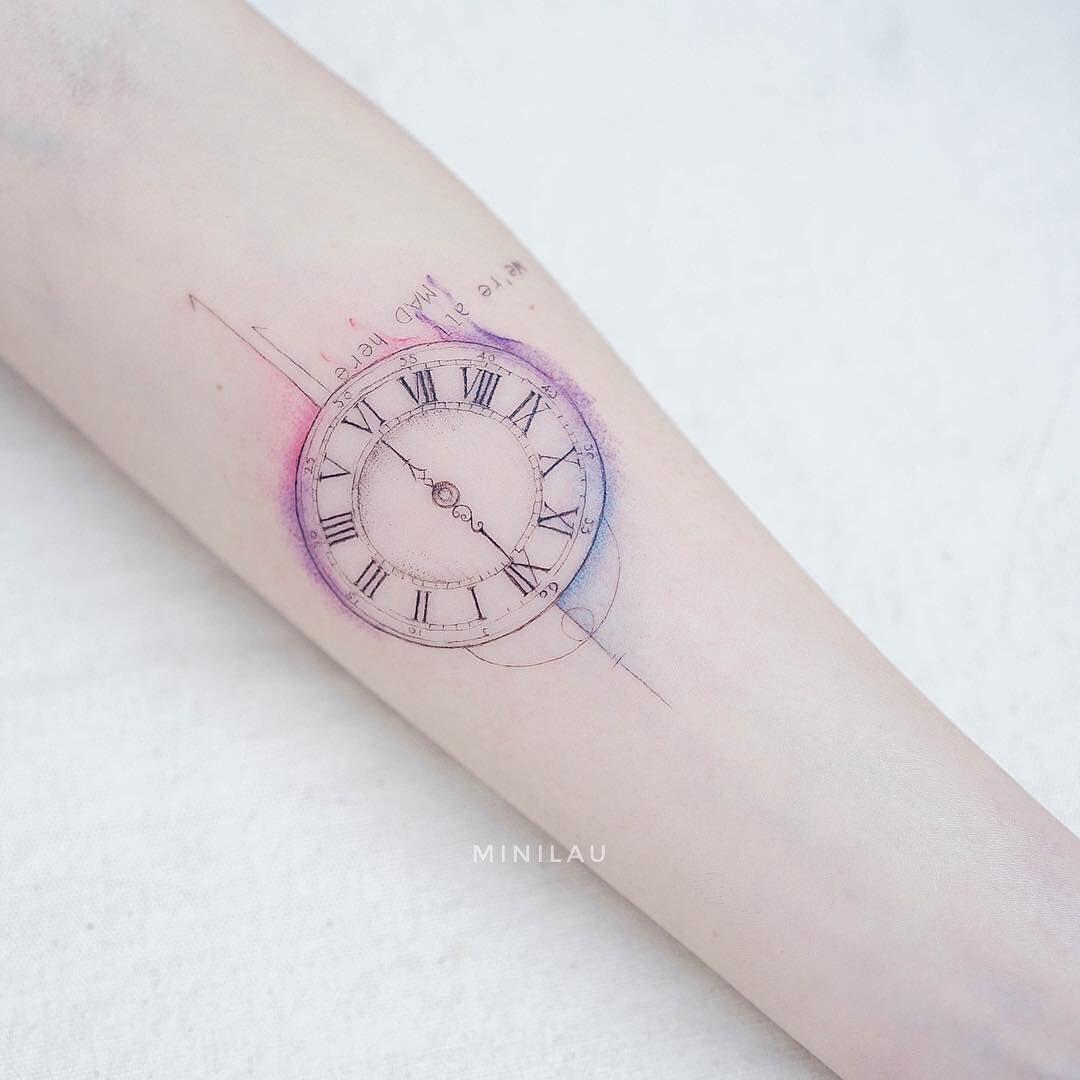 20 Tatuajes Sofisticados Cuidados Hasta El Mas Minimo Detalle Tatuajes Pequenos Hombre Tatuajes De Relojes Tatuajes Locos