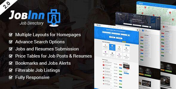 job posting html template  JobInn - Job Board