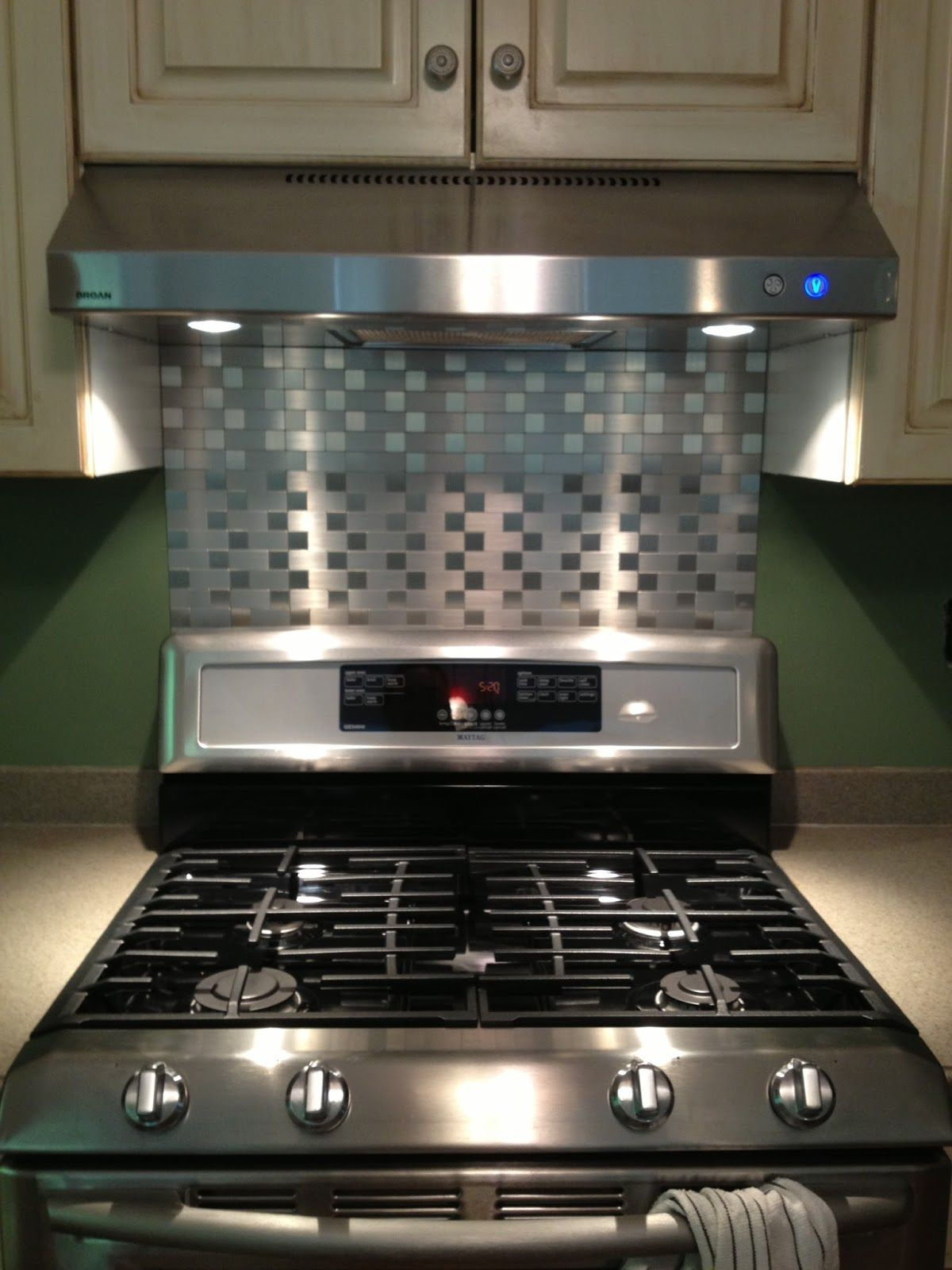 easy to install kitchen backsplash maconahouse blogspot com metallic peel and stick instant mosaic tiles for a backsplash so 8847