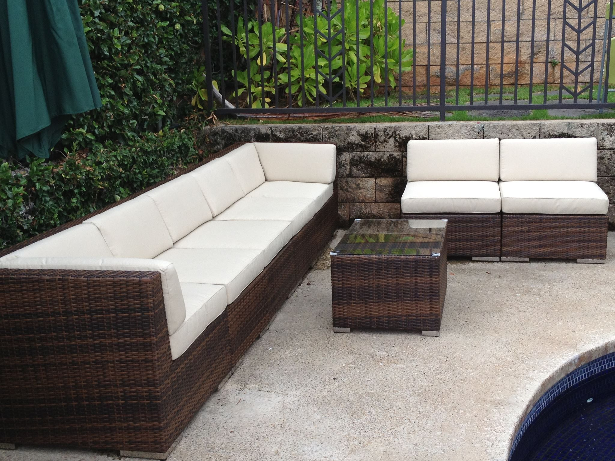 ohana wicker furniture outdoor patio