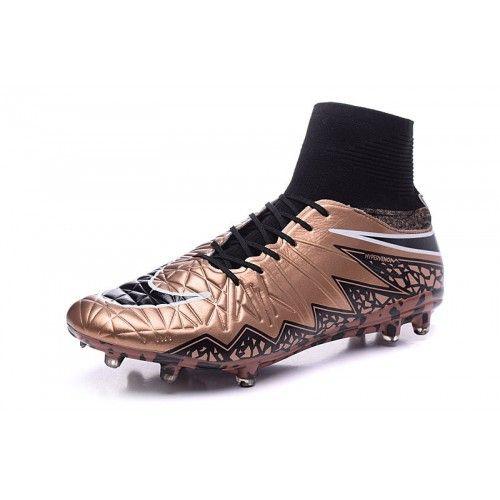 best sneakers df426 6ba70 Barato Nike Hypervenom Phantom II FG Marron Botas De Futbol