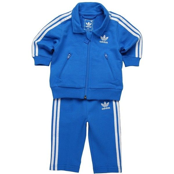3d11edc9369 Adidas Kids Firebird Tracksuit (Infant/Toddler) ($50) ❤ liked on Polyvore  featuring baby boy