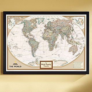National geographic my world personalized map earth toned world executive poster sized wall map tubed world map national geographic reference map a book by national geographic maps reference gumiabroncs Choice Image