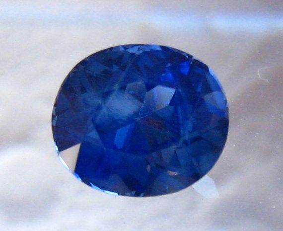 1.45 Carat Cushion Royal Blue Sapphire for Engagement Ring with AGL Report, by JuliaBJewelry
