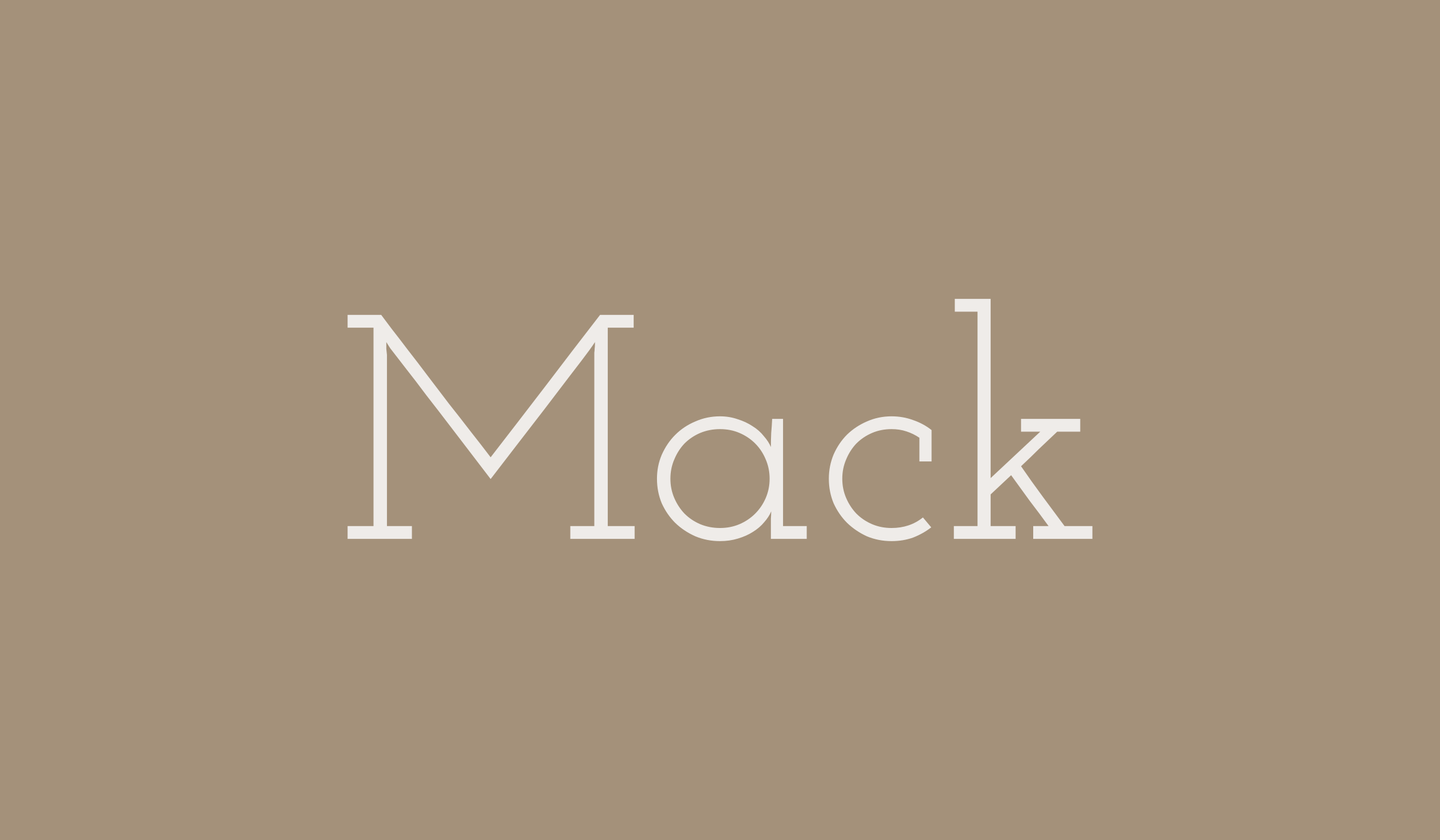 Baby name Mack, Josie Wren Baby Name Consultant (With ...