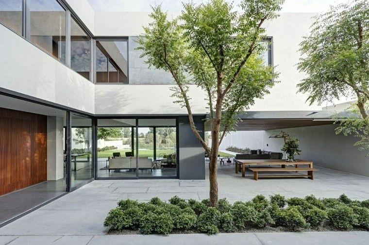 diseño paisajístico para patios interiores NEGOCIOS Pinterest