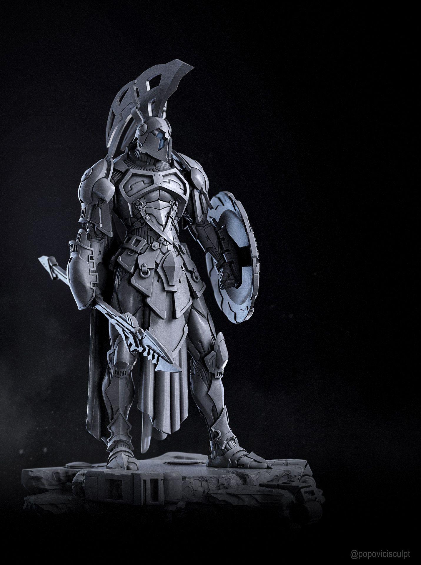 ArtStation - Ares, God of War, Alexei Popovici   Guerrier ...