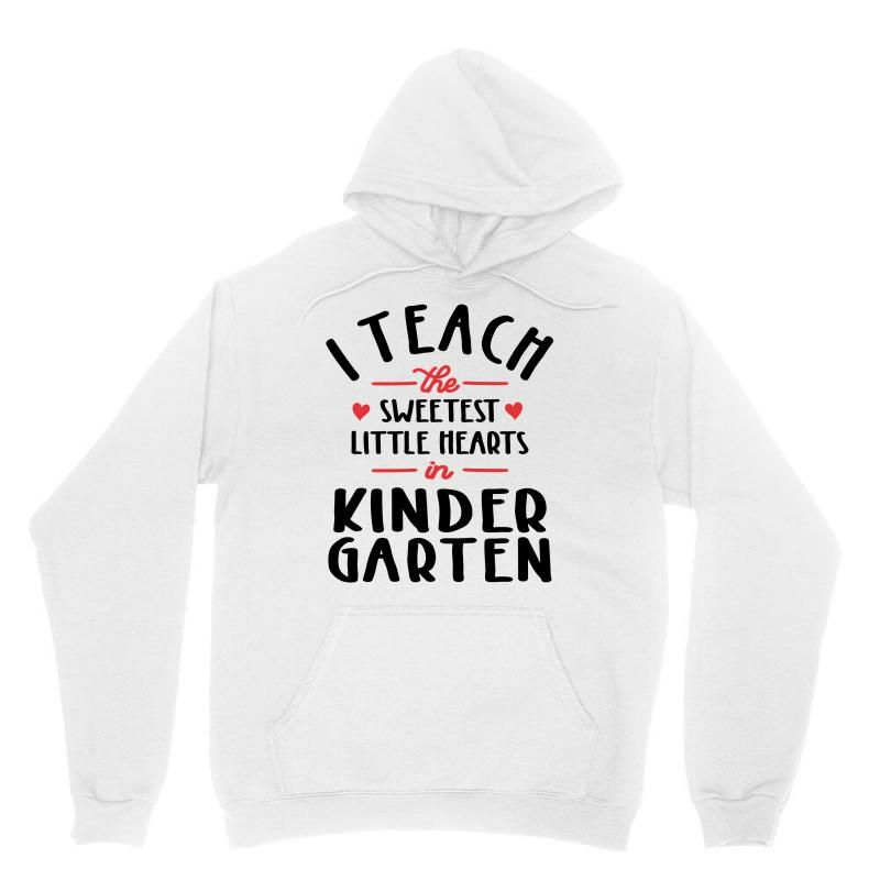 I Teach The Sweetest Little Hearts Valentines Day Teacher Unisex Hoodie