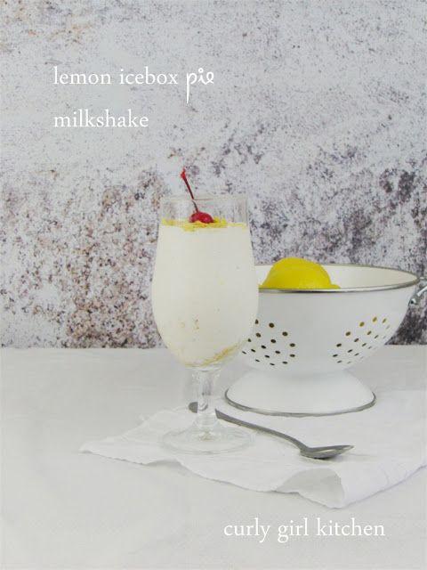 Lemon Icebox Pie Milkshake
