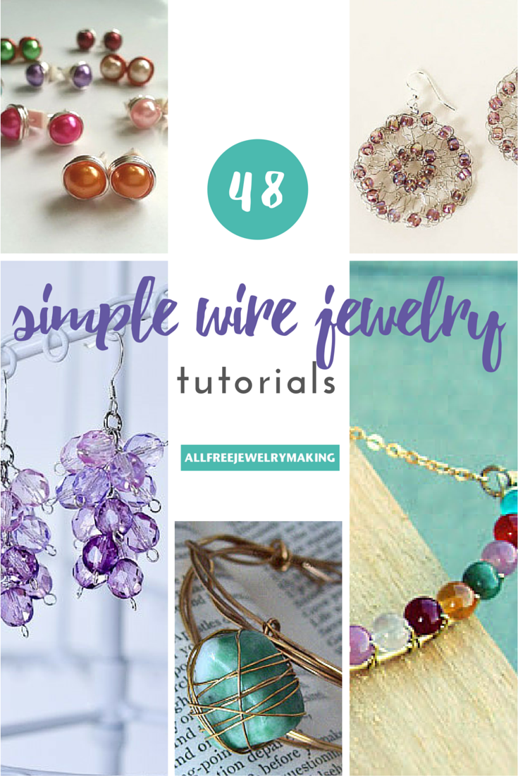 Photo of 54 Simple Wire Jewelry Making Tutorials