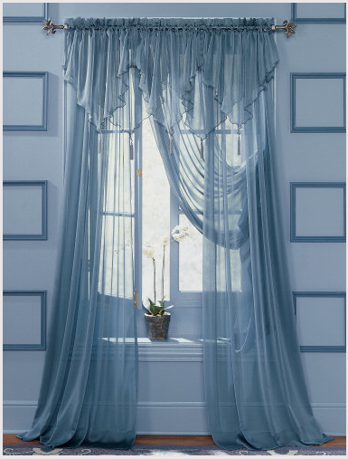 Knitting&Crochet Obsession: More Pretty Curtains! | window ...