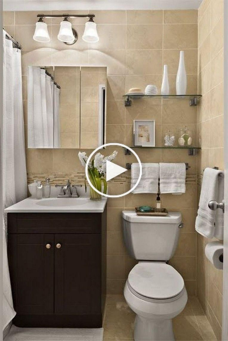 40 Cozy Small Bathroom Decor Ideas In 2020 Small Bathroom Decor Bathroom Decor Small Bathroom
