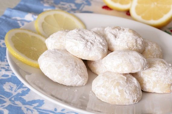 Lemon Snowball Cookies Hopefully Like The Pepperidge Farm Snowball