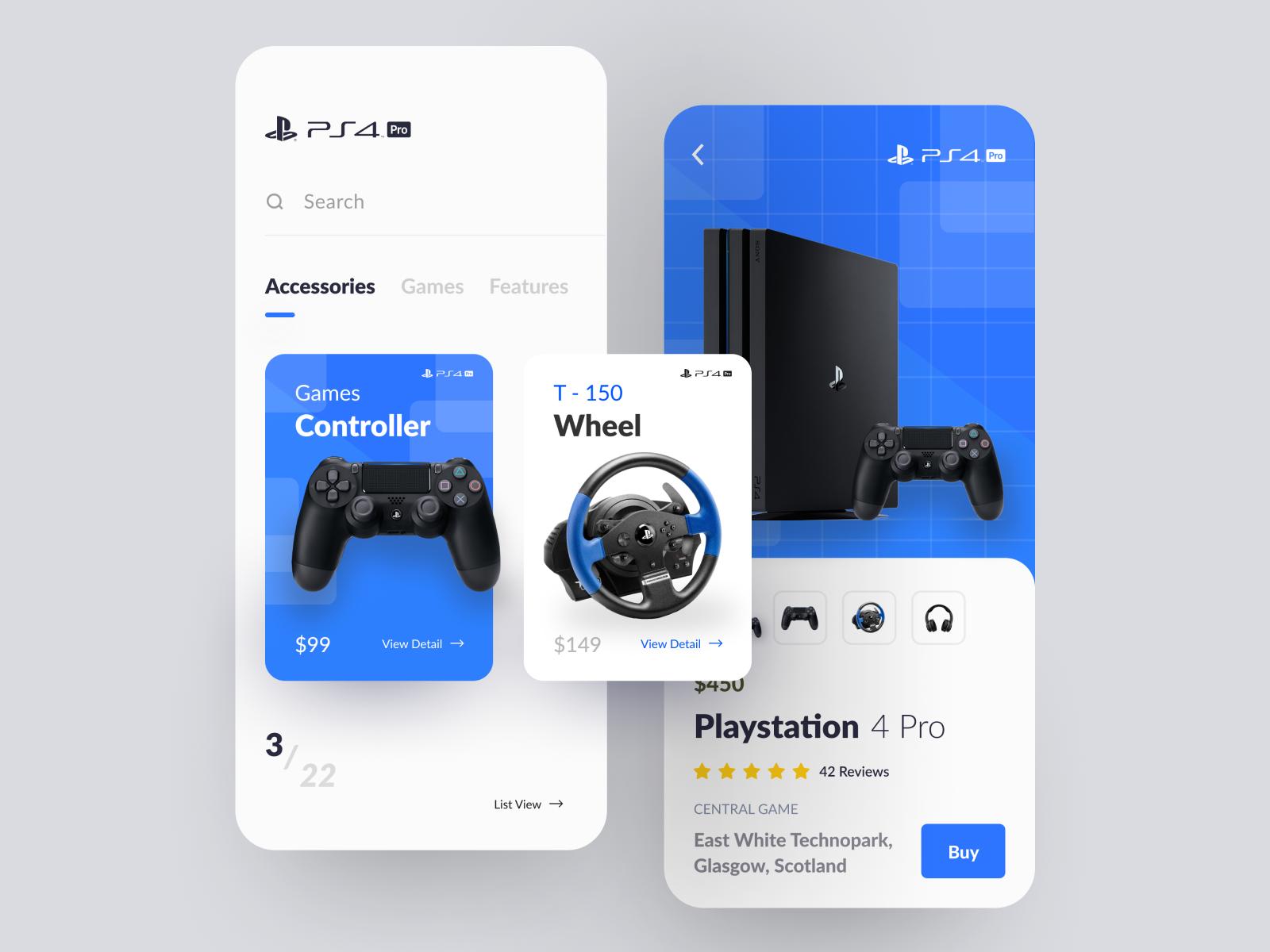 Playstation 4 Pro App Exploration