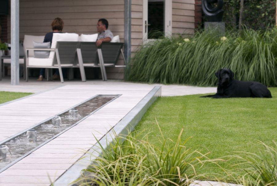 Waterelement tuin tuinen tuin tuin en landschap en for Moderne waterpartijen tuin