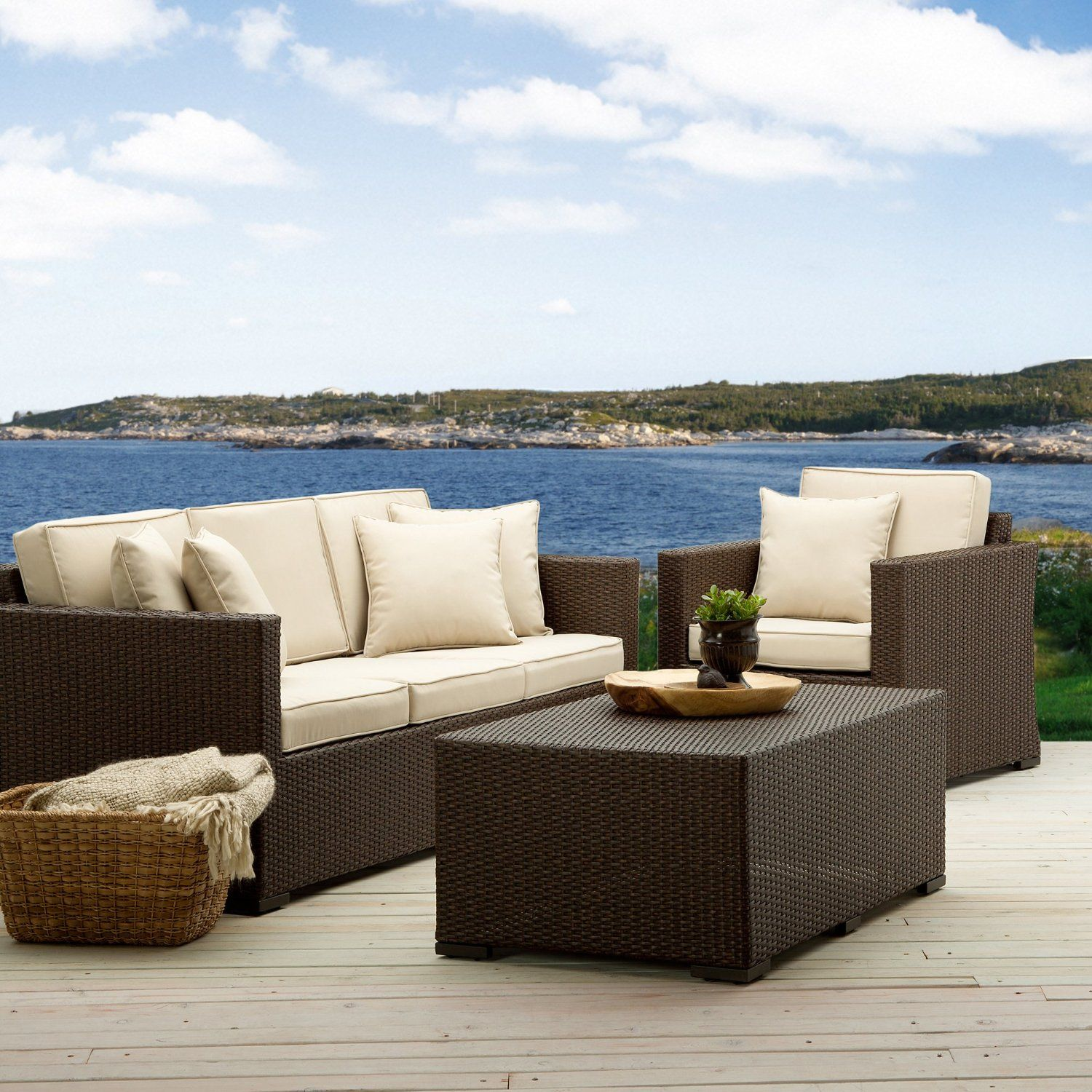 looking for patio furniture check out this set from strathwood