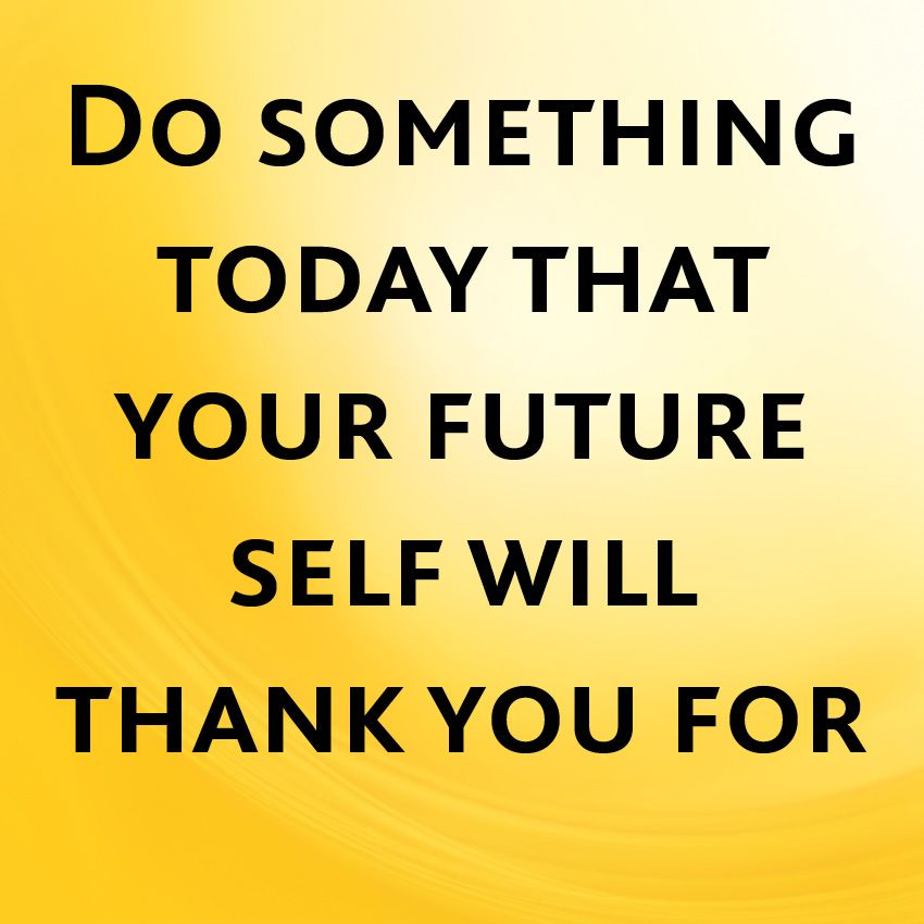 Taking action for your future inspirational quote