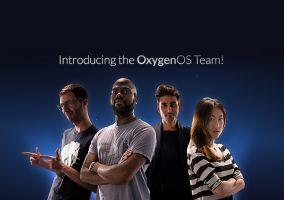 He aquí el equipo de OxygenOS, su logo oficial y primera captura de pantalla