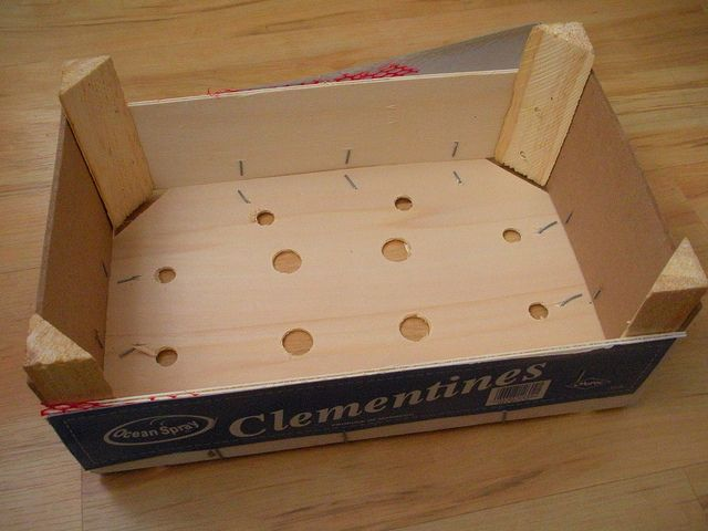 American Girl Doll Play: Doll Craft - Clementine Box to Doll Couch #americangirldollcrafts