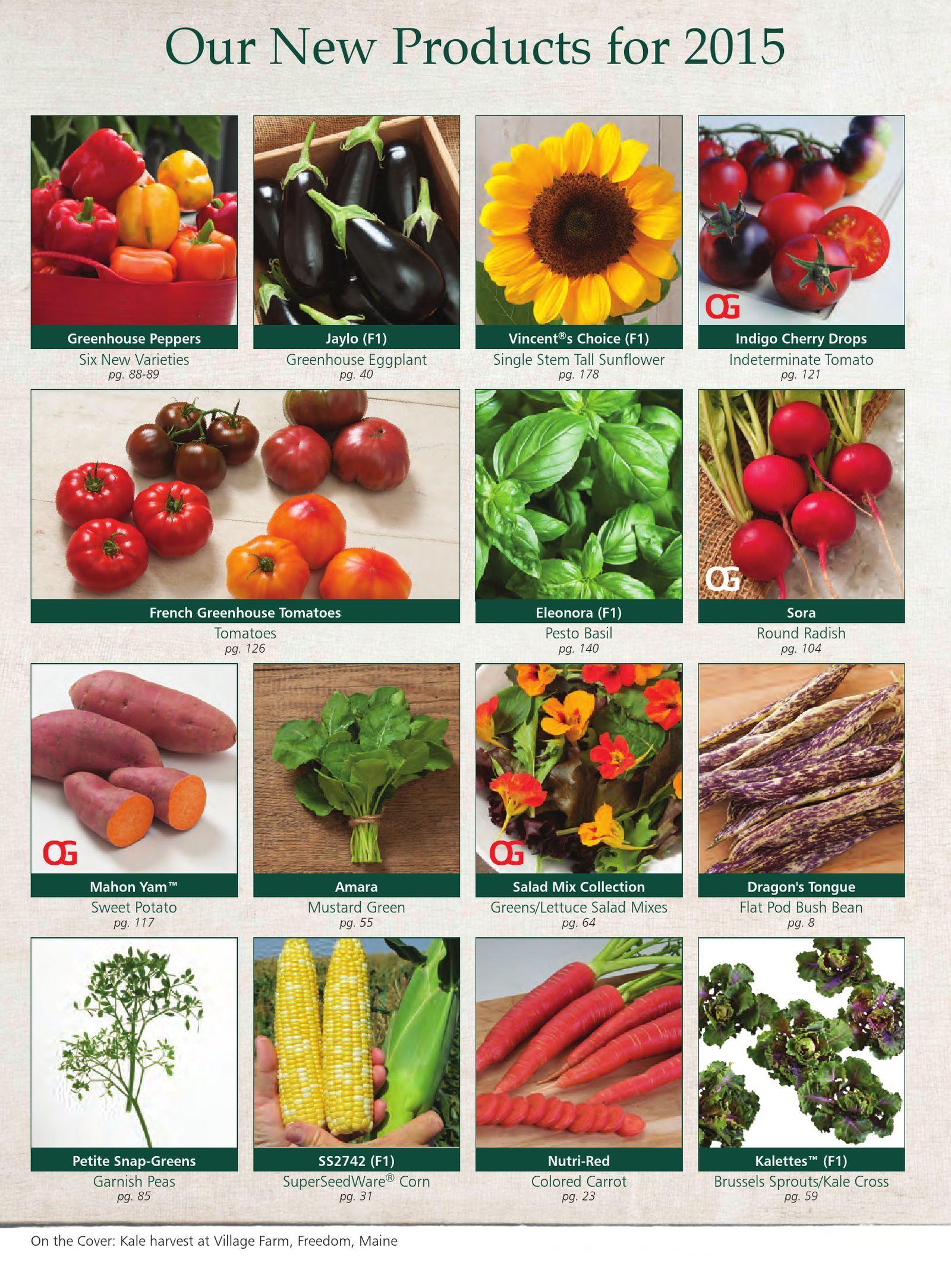 Johnny's Selected Seeds 2015 Master Catalog | PDF Flipbook