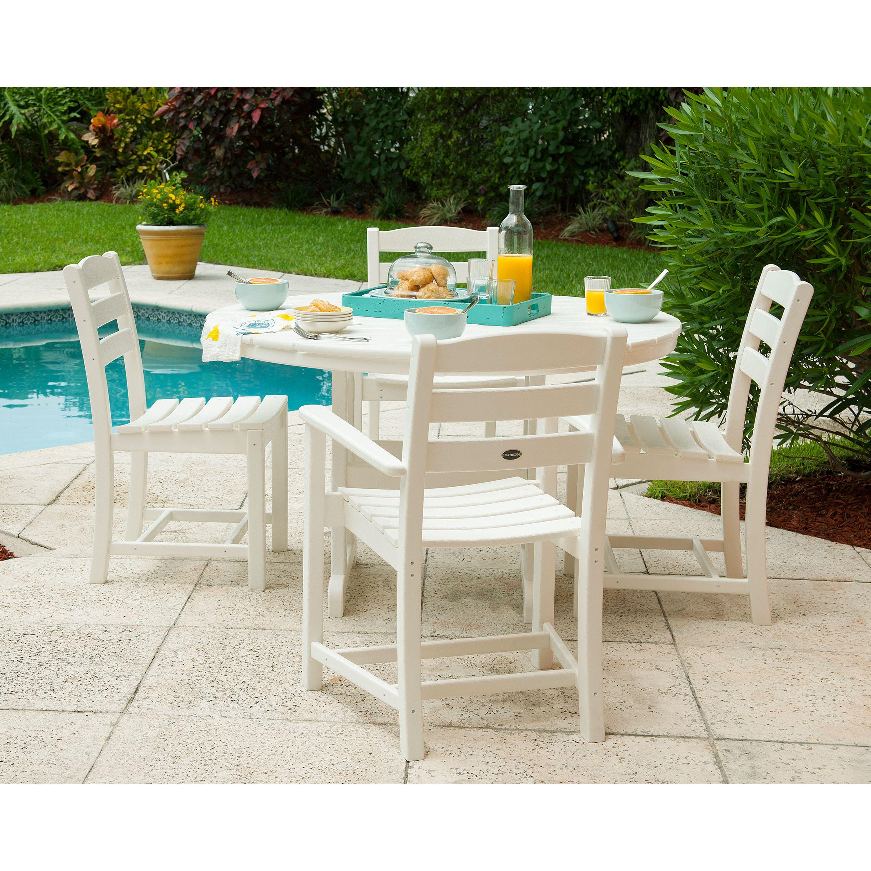 La Casa Cafe 5 Piece Dining Set Outdoor Living Garden Dining