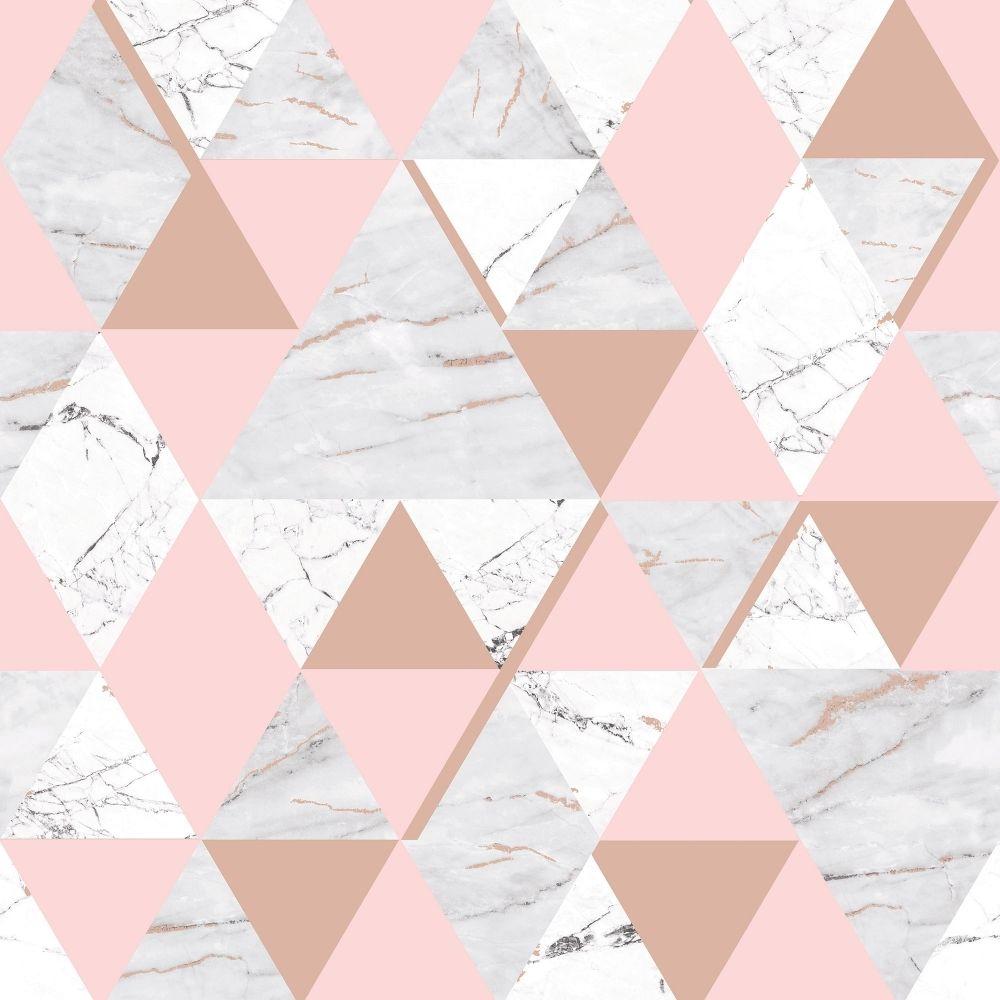 4d89186ba48d81 HOUSE OF ALICE Onyx Marble Metallic Wallpaper Soft Pink, Rose Gold. Shop  similar designs at ilovewallpaper.co.uk #ilovewallpaper #Geometric  #Wallpaper