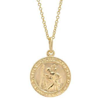 Betteridge 14k gold st christopher pendant 290 des bijoux christopher pendant found this in my grandmothers jewelry box aloadofball Gallery
