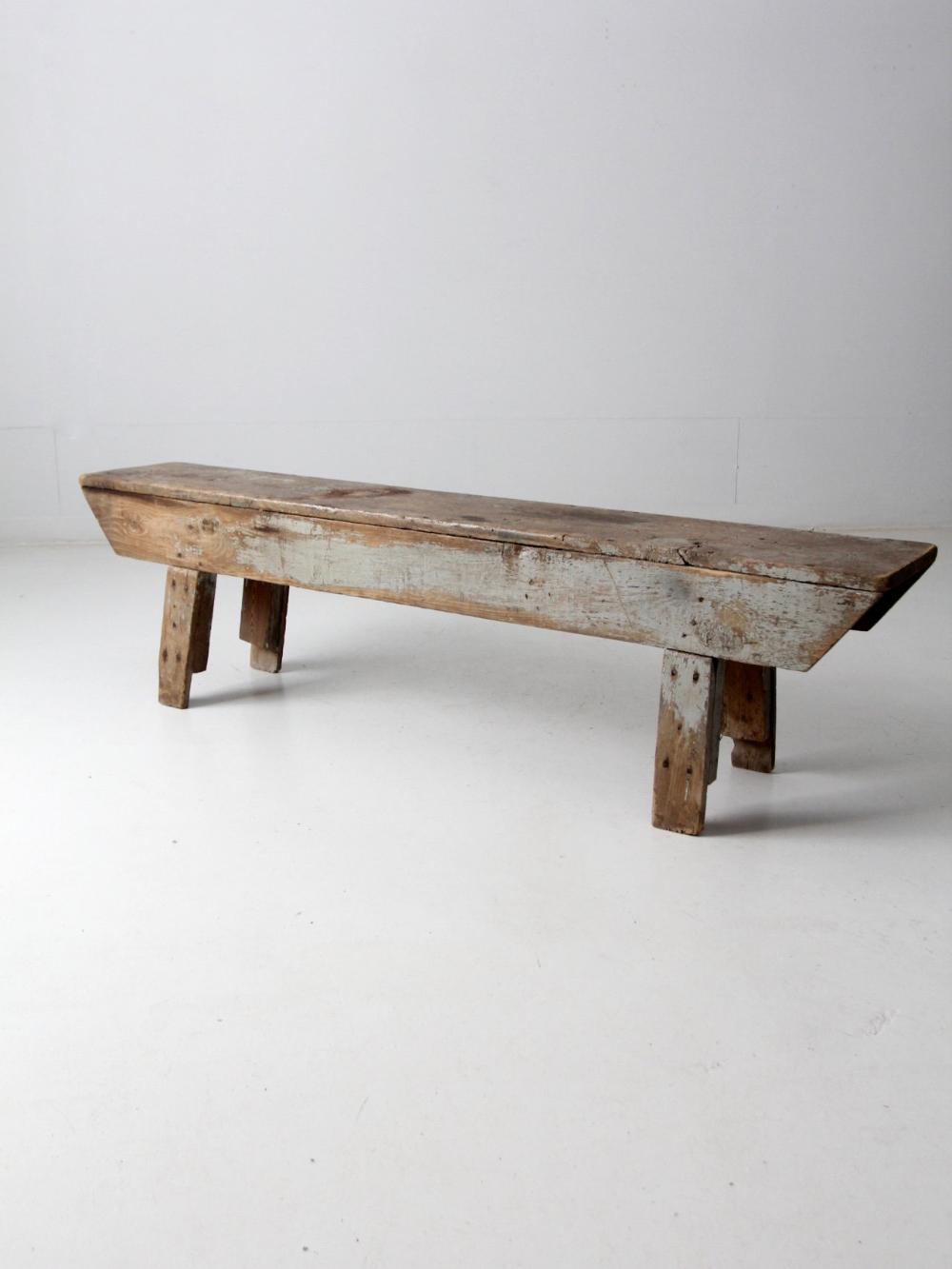 35+ Farmhouse wood bench model