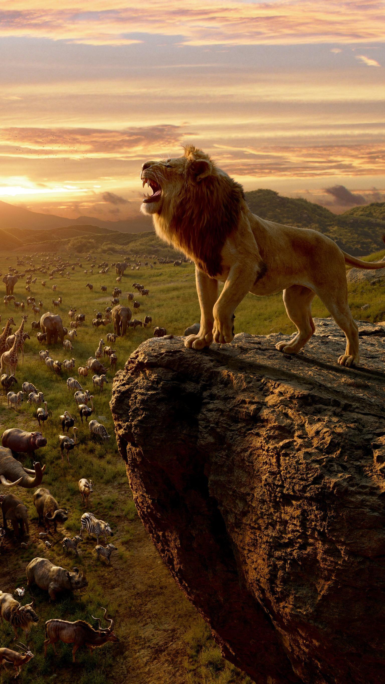 The Lion King 2019 Phone Wallpaper Fotos Rei Leao Rei Leao Disney Desenhos