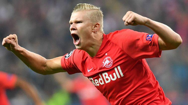 Salzburg Sensation Haaland Hoping To Trick Van Dijk In Champions League Showdown Goal Champions League Manchester United Borussia Dortmund