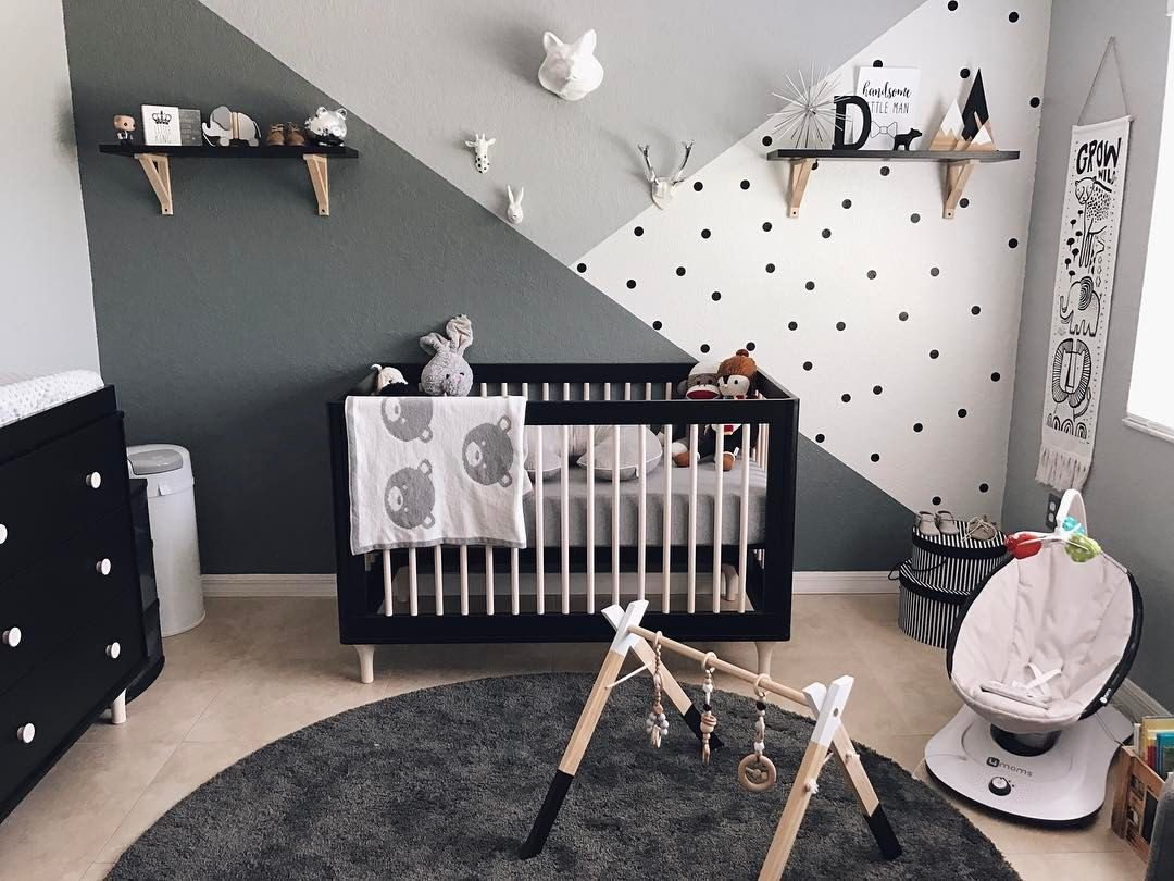 Amelia S Room Toddler Bedroom: Our First Nursery, Monochrome Zoo