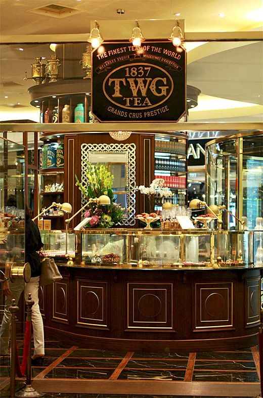 Twg Tea Ion Orchard Singapore Twg Tea Tea Lounge Tea Shop